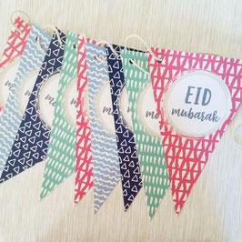 "Festgirlande Happy Collection                                      ""Eid Mubarak"""