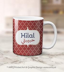 Tasse Hilal - Carneval Collection Marocco