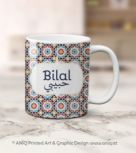 Tasse Bilal - Carneval Collection Marocco