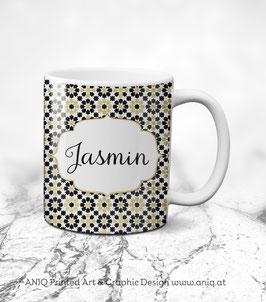 Tasse Jasmin Gold - Collection Marocco