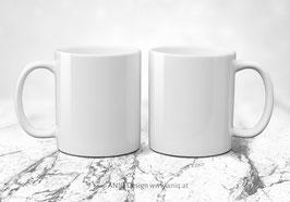 Zwei Tassen im Set - beliebige Motive aus den Kollektionen wählbar