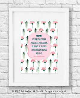 Allah ist der Schutzherr