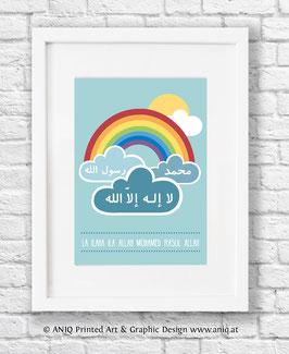 Regenbogen Shahada