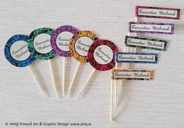 Cupcakes Topper 10 Stück