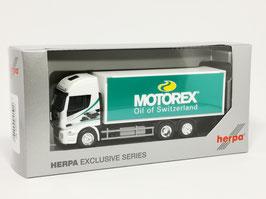HERPA 944298 IVECO STRALIS MOTOREX KOFFER