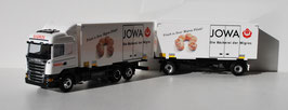 SCANIA R 09 MIGROS 33  MIT  WECHSELKOFFER / CAISSES MOBILES  JOWA