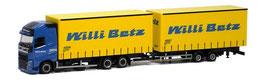 HERPA VOLVO 25070 BETZ WECHSELKOFFER 4006 & 40007 / BOITE JAUNE / OVP GELB
