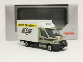 HERPA 938068 SPRINTER CAMION TRANSPORT