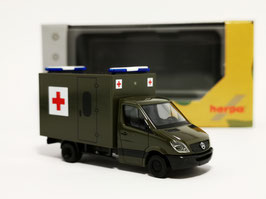HERPA 700740 SPRINTER MILITARY SCHWEIZ