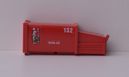 HERPA 076876  PREISMULLCONTAINER ROT MIT DECALS