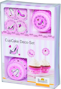 "DEKORIER-SET für CUPCAKES ""Cake in the City"""