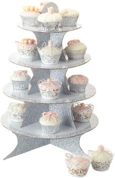 PAPIER-ETAGERE für Cupcakes