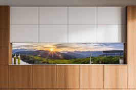 Küchenrückwand Sonnenuntergang