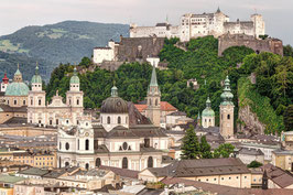 Overview Salzburg