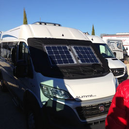 SOLARA POWER MOBIL Plus 102Wp (409 Wh/d*) für Fiat Ducato