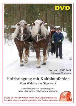 DVD Holzbringung mit Kaltblutpferden