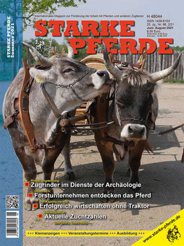 STARKE PFERDE Zeitschrift (Jahrgang 2016 bis 2020)