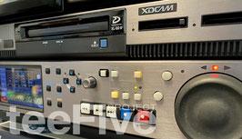 放送用 Sony XDS-PD1000 Professional Media Station / IT Server with two SxS memory slots and 1TB HDD