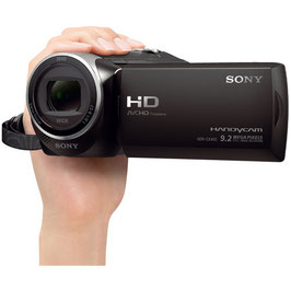 Sony HDR-CX405 HD Handycam Ideal for overseas travelers and Behind the Scenes!