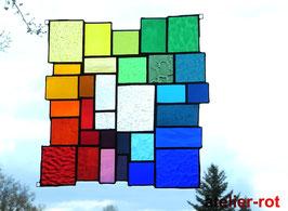 Tiffany Fensterbild Bunte Vielfalt Größe L
