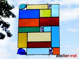 Tiffany Bunte Vielfalt Fensterbild