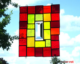 Fensterbild modernes Glasbild Tiffany