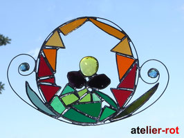 Tiffany Blume Fensterbild
