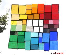Tiffany Fensterbild Bunte Vielfalt Größe XXL