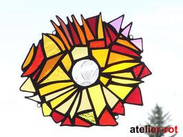 Tiffany Anhänger wildes Mandala Fensterdeko