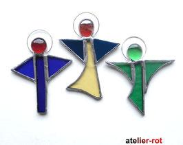 Engel 3er Set Tiffany Schutzengel Anhänger