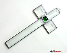 Kreuz moderner dezenter Tiffany Anhänger