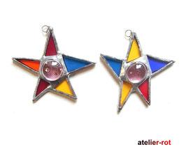 wilde Sterne 2er Set  Tiffany Anhänger