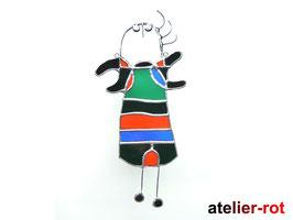 Tiffany Fensterbild Hommage an Miró
