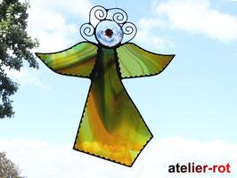 großer Engel individuelles Tiffany Fensterbild