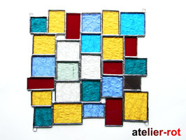 Fensterdeko Bunte Vielfalt Tiffany