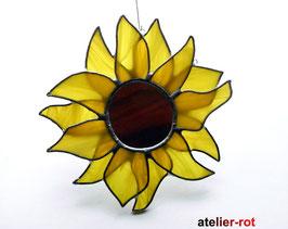Sonnenblume Tiffany Fensterbild