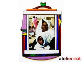 Bilderrahmen Afrika Tiffany