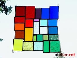 Tiffany Fensterbild Bunte Vielfalt