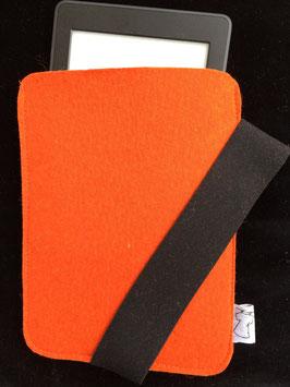 Orange mit schwarz