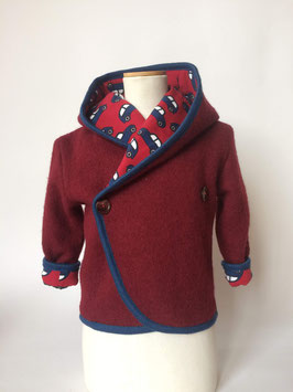 Walkjacke rot/autos Gr.M (104)