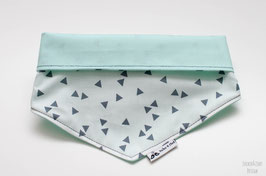 Hundehalstuch - Graue Dreiecke