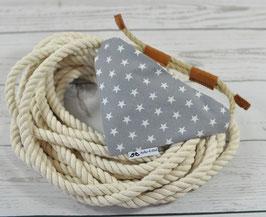 Tau-Hundehalstuch - Dreiecke/Sterne