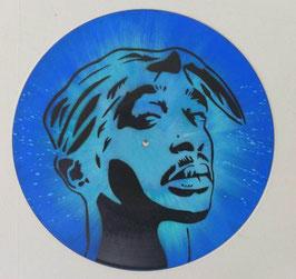 Disque Vinyle Décoratif - Tupac Shakur