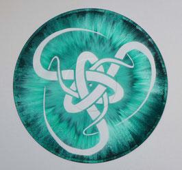 Disque Vinyle Décoratif ABSTRACT SPIRAL UNIVERSE