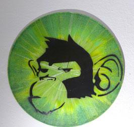 Disque Vinyle Décoratif - Green Monkey