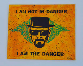 Tableau Street Art Heisenberg (Bryan Cranston) - Breaking Bad - The DANGER
