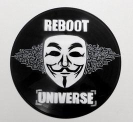 Disque Vinyle Décoratif ANONYMOUS - REBOOT UNIVERSE