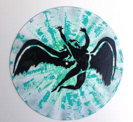 Disque Vinyle Décoratif LED ZEPPELIN - FALLEN ANGEL