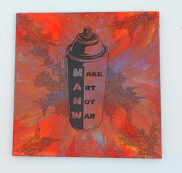 Tableau Street Art - Make Art Not War - Slave 2.0