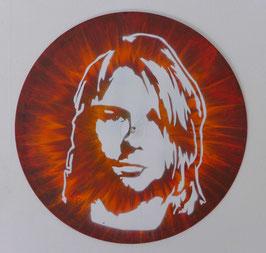 Disque Vinyle Décoratif - Kurt Cobain - O'Grunge